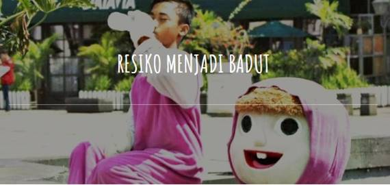 Badut Doraemon